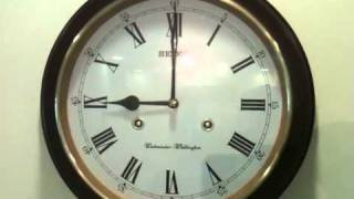 Play vintage seiko manual winding wall for Seiko westminster whittington wall clock manual