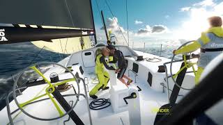 The Volvo Ocean Race in 2 mins