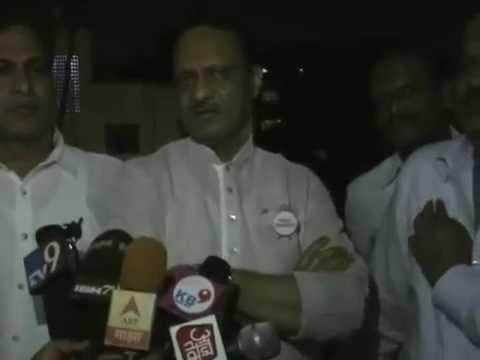 Ajit Pawar Byte on Azam Pansare