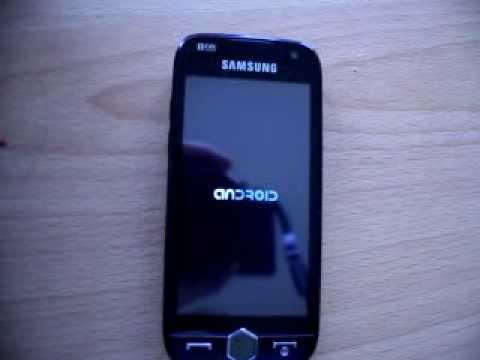 android omnia II i8000.wmv