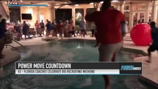 Watch Florida Football Coaches Celebrate Recruiting Success | Stadium