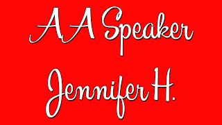 "Hilarious AA Speaker Jennifer H. – ""I Used to Have a Skid Row Soul"""