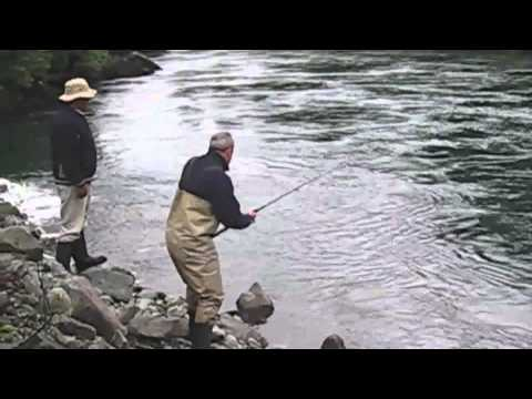 Fly Fishing South America Petrohue - Chinook  Salmon - Flyfishing South America Travel