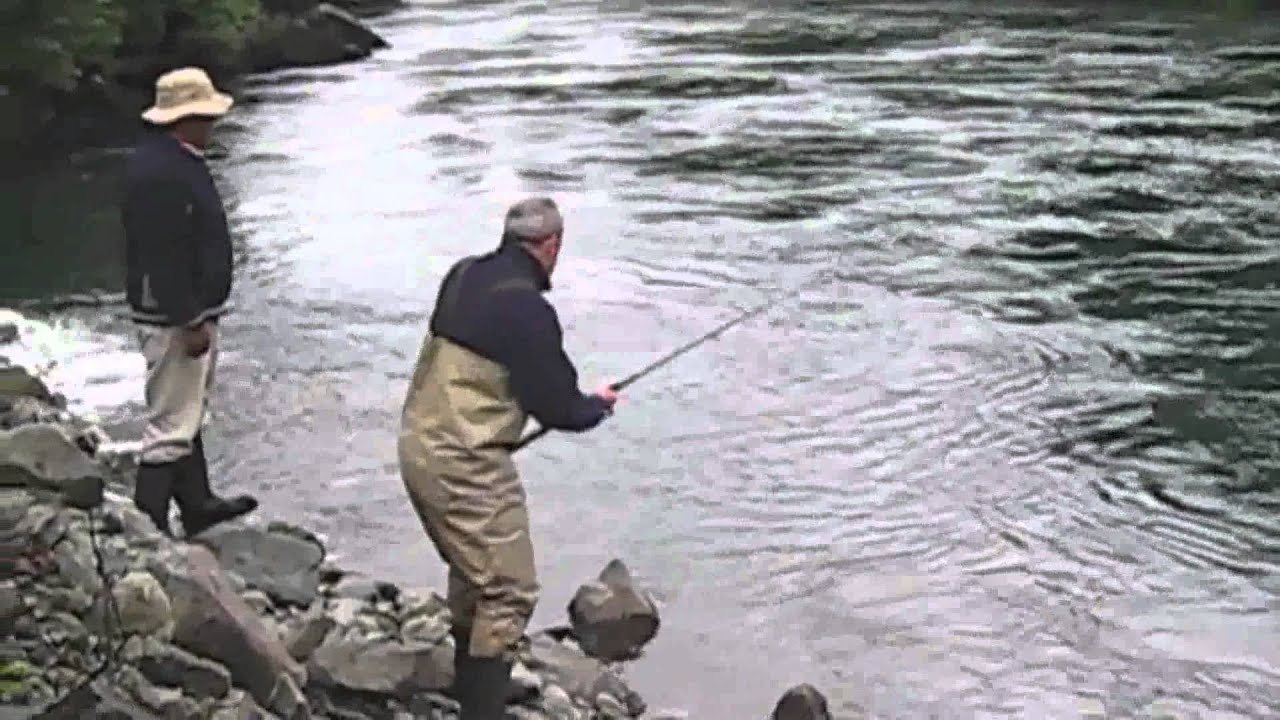 Fly fishing south america petrohue chinook salmon for Trout fishing in america