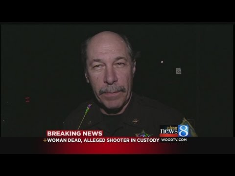 1 shot, killed; suspect in custody