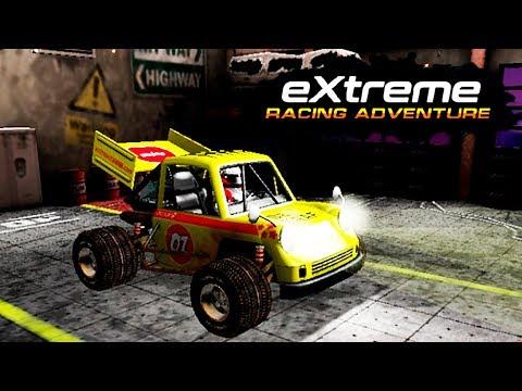 EXTREME RACING ADVENTURE #1 ОБЗОР игры про машинки для детей новинка 2017 как мультик kids car games
