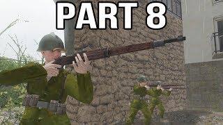 Call of Duty 2 Spanish Civil War Gameplay Part 8 - Italian Intervention