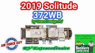 "2019 Solitude 372WB by Grand Design RV - w/Paul Chamberlain, Jr. ""The Air Force Guy"""