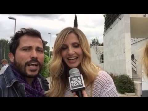 Lorella Cuccarini canta i Rolling Stones al Karaoke Rock Bike di Radio Rock