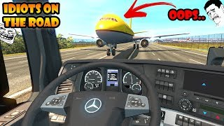 ★ IDIOTS on the road #43 - ETS2MP | Funny moments - Euro Truck Simulator 2 Multiplayer