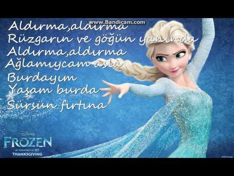 Elsa Aldırma Türkçe Lyrics