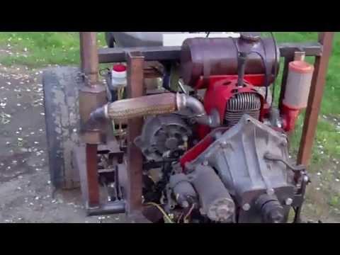 Minitraktorek-Ciągniczek Własnej Konstrukcji.Jak Zrobić Traktorek SAM.