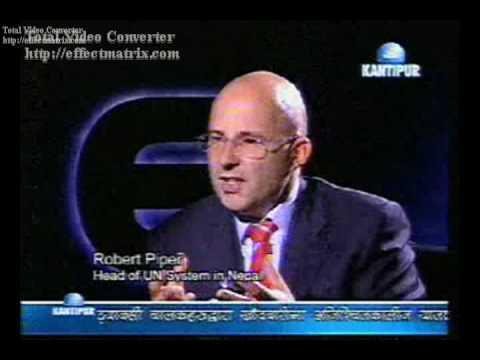 Fireside Intervew of UN Resident and Humanitarian Coordinator Mr. Robert Piper - Part 3/4