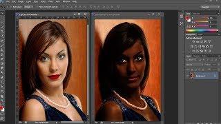 Best Photo Retouching and Skin Retouching Easy Technic | Photoshop Tutorial