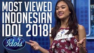 Download Lagu TOP 10 MOST VIEWED INDONESIAN IDOL 2018 AUDITIONS! | Idols Global Gratis STAFABAND