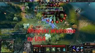 Mineski VS Fnatic Game 5 The Summit 4 - Welcome to Los Angeles USA, Mineski !