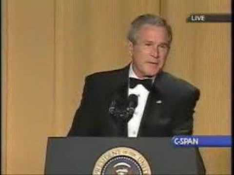 Steve Bridges Impersonating President Bush Video