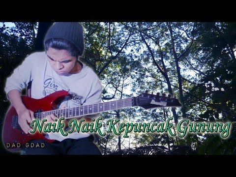 Naik Naik Ke Puncak Gunung Versi Reggae Guitar Cover By Mr. JOM