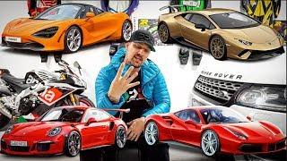 4 NEW SUPERCARS!  - *McLaren 720s, Ferrari 488, Lamborghini Performante, Porsche GT3RS*