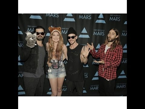 Thirty Seconds to Mars Meet up in The Air Meeting Thirty Seconds to Mars