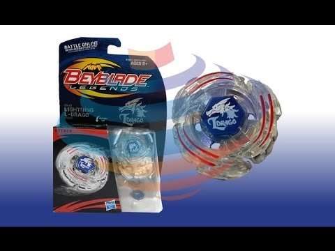 Beyblade Legends BB-43 Lightning L-Drago 100HF Review Unboxing Giveaway Expires August 6th 2014