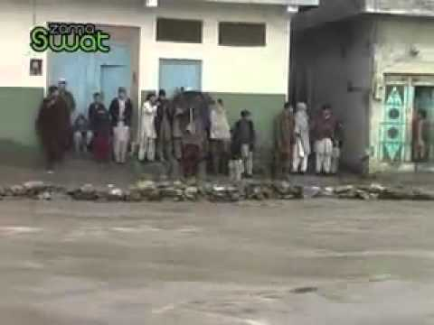 Swat Selab Mingora Flood video