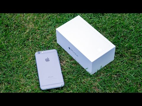 iPhone 6: распаковка и первое впечатление