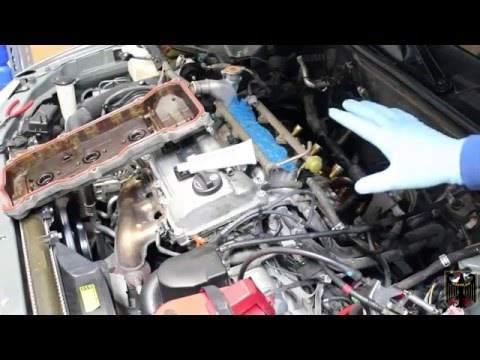 2001 Toyota Camry Rear Valve Cover Gasket Replacement