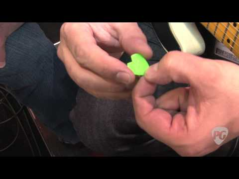 NAMM '11 - Dunlop Derek Trucks Slide, Tortex TIII, Hetfield Black Fang&Kirk Hammett Jazz III Picks