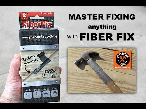 How to Fix Anything with Fiber Fix -- by Home Repair Tutor