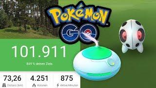 Shiny trotz Softbann, 100.000 Schritte und Rauch im Zug | Pokémon GO Deutsch #631