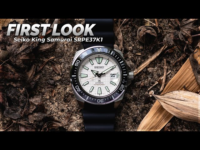 Seiko Prospex Diver's King Samurai SRPE37K1 | First Look With WatchGecko