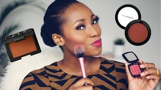 5 MUST HAVE BLUSHES FOR BLACK WOMEN/ DARK SKIN / WOMEN OF COLOUR   DIMMA UMEH