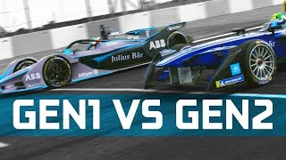 Gen1 vs Gen2 Formula E Battle - Drag Race, 0-100, & 0-150-0 km/h Challenge