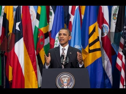 President Obama on the United States and Latin America