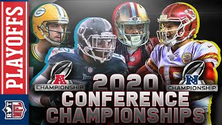 2020 Conference Championship Predictions | NFL Playoffs + Super Bowl LIV