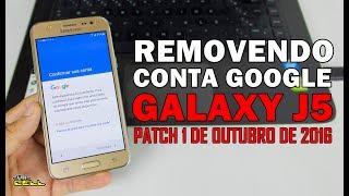 Hard reset remover conta Google do Samsung Galaxy J5 SM-J500H