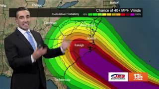 Tropics Update: Tracking Hurricane Florence, other tropical systems Monday, September 10, 2018