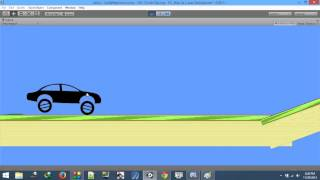 Hill Climb Racing Like 2D Car Physics - Unity