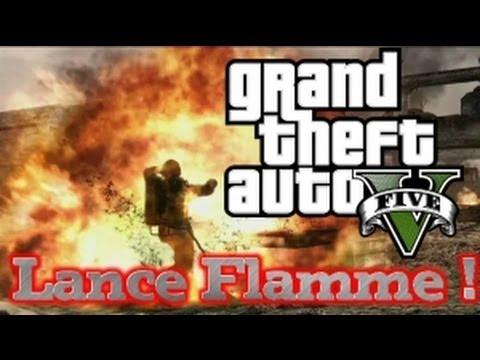 GTA 5 Online : Nouveau DLC : Le Lance Flamme !! A Quand ?!!