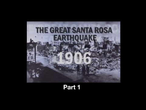 earthquake santa rosa