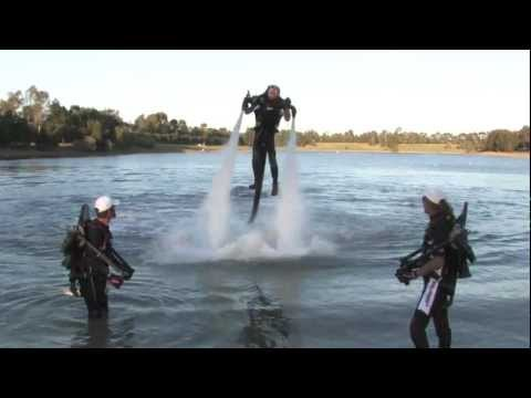 Brisbane Boat Expo-Monaco aces com Jetpack Demo team Action Commercial