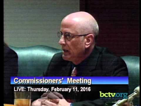 County of Berks Commissioners' Meeting. Thursday, February 11th, 2016.