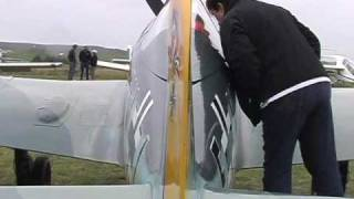 60% scale Focke Wulf 190 homebuilt airplane