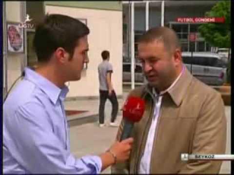 Safak Sezer Fenerbahce Spikeri Taklit yapıyor sandım, stadı yaktı