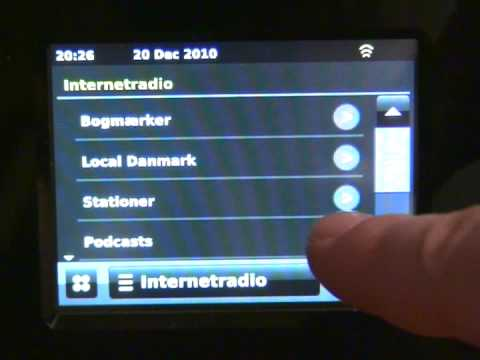 IRC Touch IP Radio - Kom godt i gang