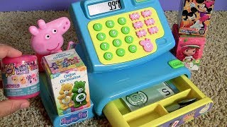 Peppa Pig Cash Register Toy SURPRISES My Little Pony the Movie Fashems Series 7 FTC #funtoys Channel