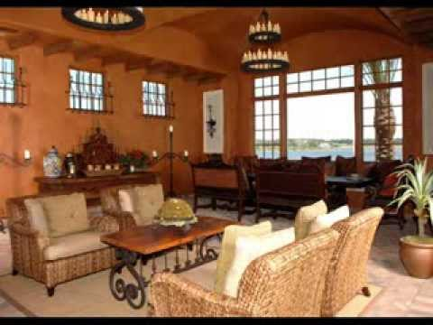 Orlando florida tuscan themed interior home designer youtube for Florida home interior designs
