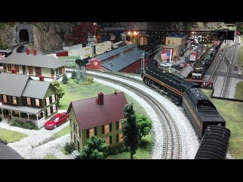 MTH DCS O Scale Train Layout Update (May 2014)
