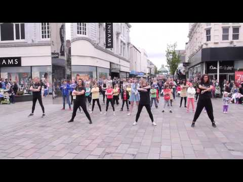 Children's University Flash Mob 2013